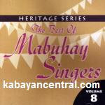 The Best of Mabuhay Singers Vol.8 CD - Mabuhay Singers