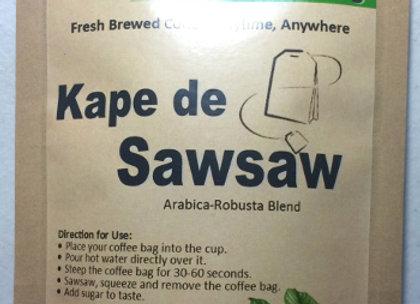 Kape de Sawsaw (5gx10 coffee bags)