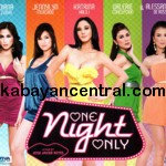 One Night Only VCD