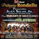 24 Best Rondalla Favorites Vol.18 CD - Juan Silos Jr