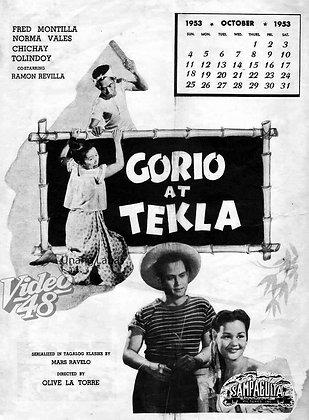 Gorio at Tekla (1953) DVD