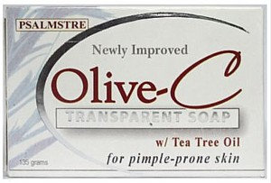 OLIVE-C Transparent Soap with Tea Tree Oil (2 x 135g)