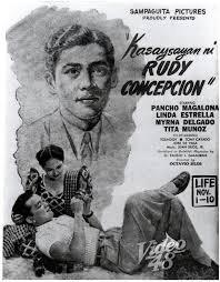 Kasaysayan ni Rudy Concepcion (1952) DVD