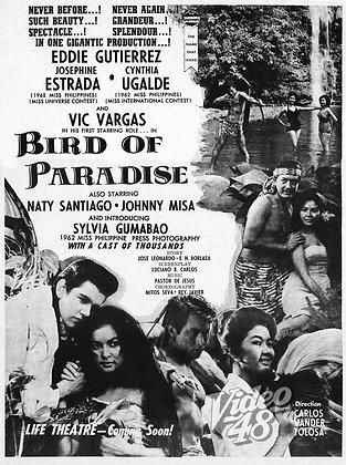 Bird of Paradise (1963) DVD