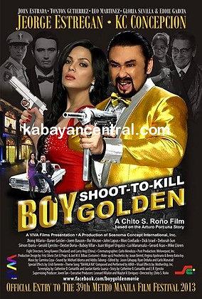 Shoot-to-Kill Boy Golden (Manila Gangland 1960) DVD