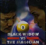 Black Widow vs The Magician VCD