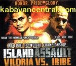 Viloria Vs. Iribe (Island Assault) VCD