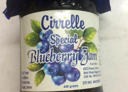 Cirrelle Blueberry Jam (440g)