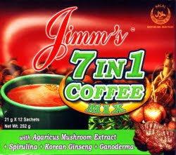 Jimm's 7-in-1 Coffee (12x 21g sachet)