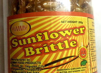 Kimmy Sunflower Brittle (200g)