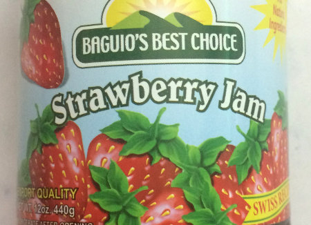 Strawberry Jam (12oz) Baguio's Best Choice