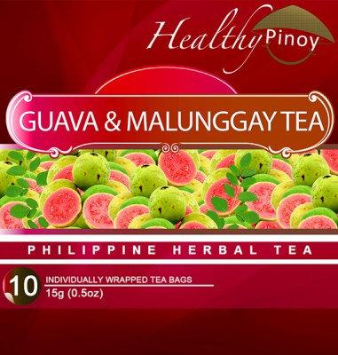 Healthy Pinoy Guava & Malunggay Tea (10 x 1.5g tea bags)