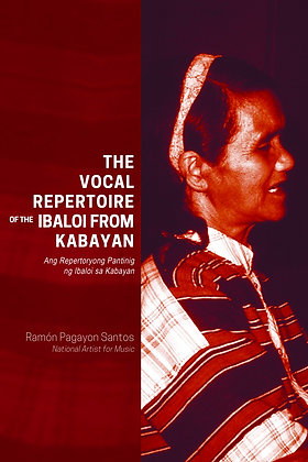 The Vocal Repertoire of the Ibaloi Book