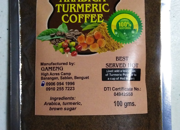Arabica Turmeric Coffee (100g)