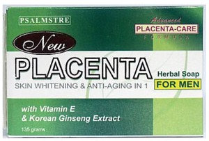 New Placenta Herbal Soap for Men (2 x 135g)