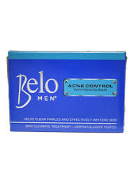 Belo Men Acne Control Whitening Bar (2x100g)
