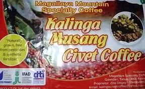 Kalinga Civet Ground Coffee (200g)