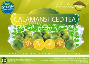 Healthy Pinoy Calamansi Iced Tea (20g x 10 sachets)