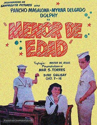 Menor de Edad (1954) DVD
