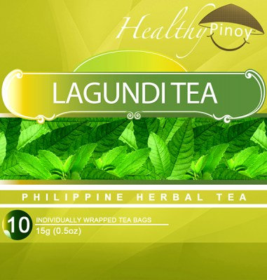 Healthy Pinoy Lagundi Tea (10 x 1.5g tea bags)