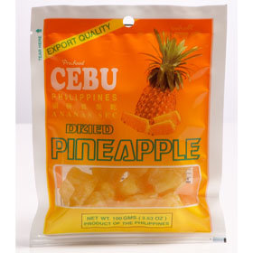 Dried Pineapple (100g) Cebu Brand