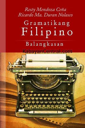 Gramatikang Filipino: Balangkasan
