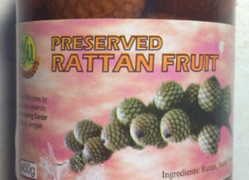 BSU Preserved Rattan Fruit (450g)