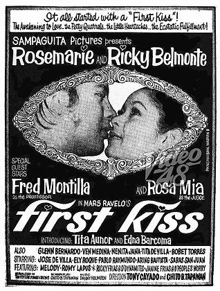 First Kiss (1970) DVD