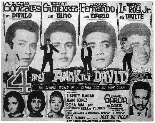 Apat ang Anak ni David (1963) DVD