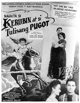 Nagkita si Kerubin at Tulisang Pugot (1954) DVD