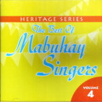 The Best of Mabuhay Singers Vol.4 CD - Mabuhay Singers