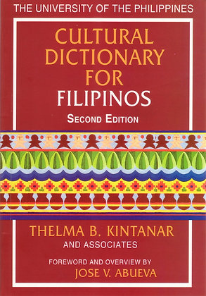 U.P. Cultural Dictionary for Filipino (2nd Ed.)