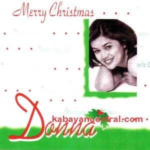 Merry Christmas CD - Donna Cruz