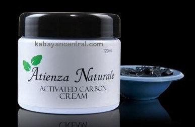 Atienza Naturale Activated Carbon Cream Facial & Body Scrub (2 jars)