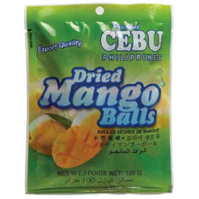 Dried Mango Balls (100g) Cebu Brand