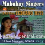 18 All-Time Cebuano Hits Vol.12 CD - Mabuhay Singers