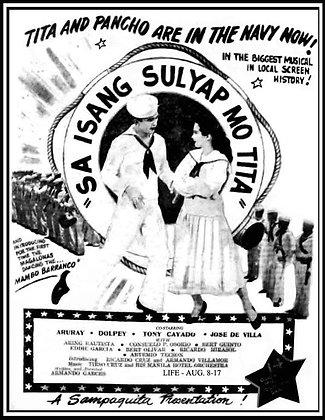 Sa Isang Sulyap Mo Tita (1953) DVD