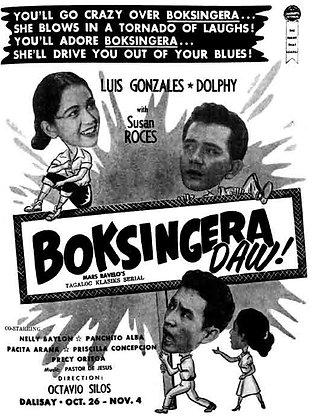 Boksingera Daw (1956) DVD