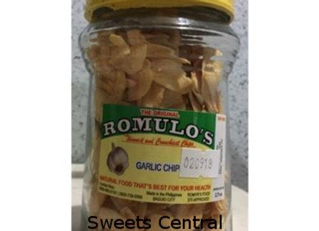 Romulo's Garlic Chips (9oz)