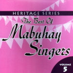 The Best of Mabuhay Singers Vol.5 CD - Mabuhay Singers