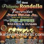 24 Best Rondalla Favorites Vol.20 CD - Juan Silos Jr