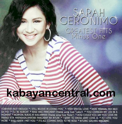 Greatest Hits Minus One - Sarah Geronimo