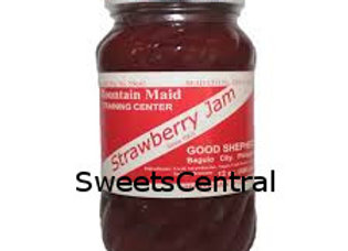 Strawberry Jam (12oz) Good Shepherd