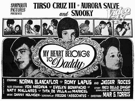 My Heart Belongs to Daddy (1971) DVD