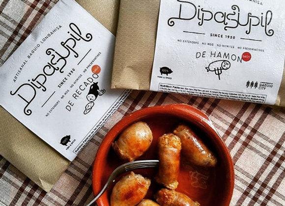 Dipasupil de Recado (Garlic) Artisanal Baguio Longanisa