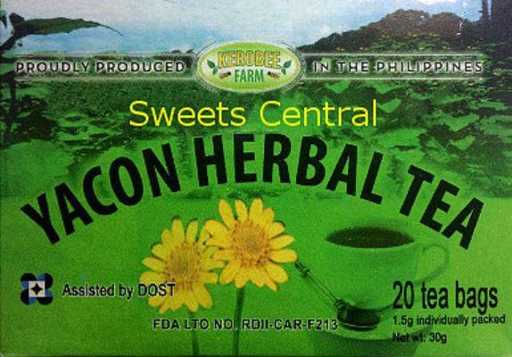 Yacon Herbal Tea (1.5gx20 teabags)