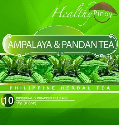 Healthy Pinoy Ampalaya & Pandan Tea (10 x 1.5g tea bags)