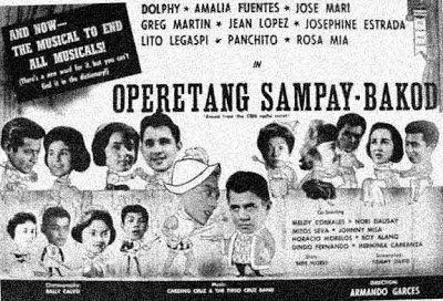 Operatang Sampay Bakod (1961) DVD