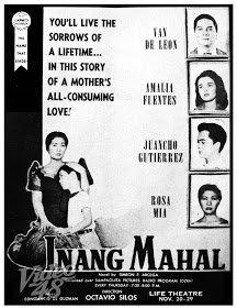 Inang Mahal (1956) DVD