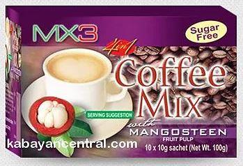 MX3 4-in-1 Coffee Mix (10 x 10g sachet)